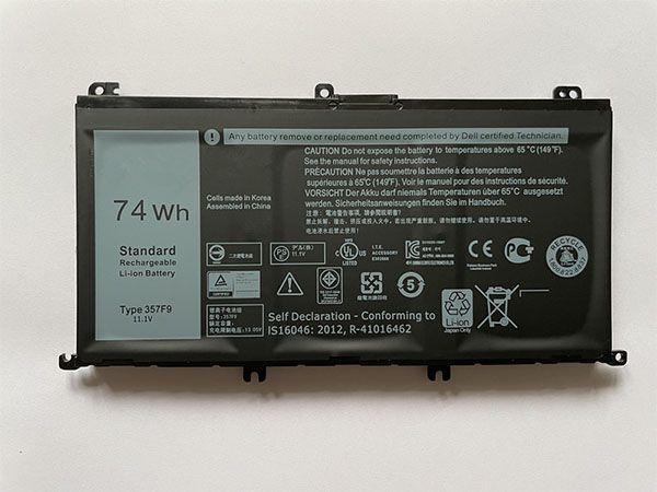 dell 357f9 laptop akku kaufen laptop batterien f r dell. Black Bedroom Furniture Sets. Home Design Ideas