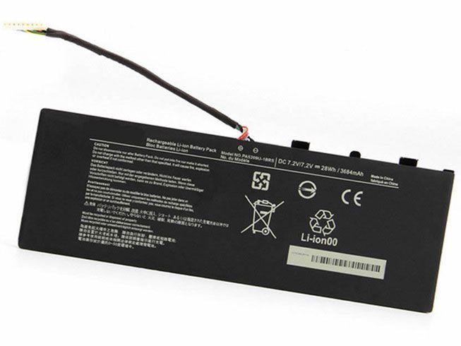 LAPTOP-BATTERIE Toshiba PA5209U-1BRS