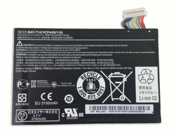 LAPTOP-BATTERIE Acer BAT-714